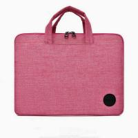 15.6 Inch Woman And Men Laptop Case Laptop Shoulder Bags Two Side Pockets Manufactures