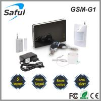 Saful GSM-G1 intelligent home security GSM alarm system Manufactures