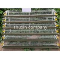 Wire Mesh Layer Commercial Quail Cage For Quail Farming 1.8m Length Manufactures