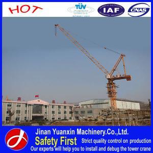 China Yuanxin Factory supply QTD125 Yuanxin luffing jib tower crane on sale