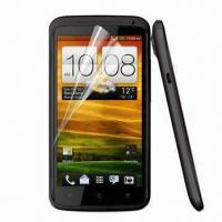 Clear Screen Protector for HTC One X, Various Materials are Available Manufactures