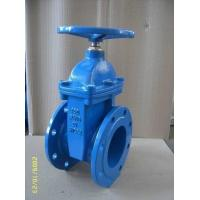 816-F (DIN) Ductile iron resilient seat NRS gate valve Manufactures