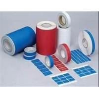 25 mics VOID PET Tamper Evident Security Labels for BRINKS with Double Barcodes Manufactures