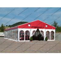 Colorful Waterproof Alumunium PVC Tent  Plain White Sidewalls for  Party Manufactures