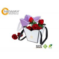 China OEM / ODM Customized Flower Gift Packaging Boxes With Silk Printing wholesale