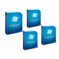 China PC Windows 7 Pro Retail Box Microsoft Windows 7 Professional Full Version on sale