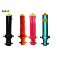 Single Acting Telescopic Hydraulic Cylinders FC Type for Dump Trailer Front Lift Manufactures