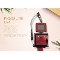 755nm Wavelength Pico Laser Tattoo Removal Machine For Pigment Acne Treatment Manufactures