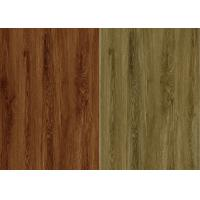 Wood Grain Surface Texture Sheet Vinyl Flooring PVC Material SGS / CE Certification Manufactures