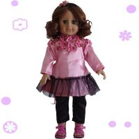 2015 new toys for kid american girl doll 18 inch hot sale girl doll joint movable dress dolls. Black Bedroom Furniture Sets. Home Design Ideas