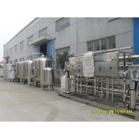 Semi - Auto 304 Stainless Steel Water Purifying Machine For Drinking Water 20 Ton Manufactures