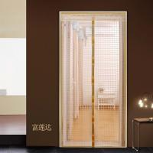 China magnetic screen door curtain,easy fit mesh door curtain 100*210cm on sale