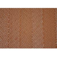Durable Polyester Mesh Belt Desulfurization Filter Cloth Screen 27508 Brown