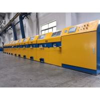 Vertical Type Straight Line Wire Drawing Machine For Low / Medium Carbon Steel Manufactures