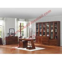 High Quality Solid Wooden Material Bookcase Set in Study Room Manufactures