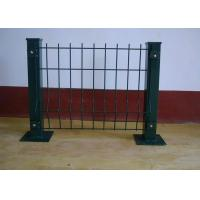 Bending Barrier Wire Fence / Park Fence Barricade / Fence With Triangle Bends Manufactures