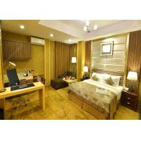 Luxury Apartment Hotel Surplus Furniture , Customized Full Size Bedroom Sets Manufactures