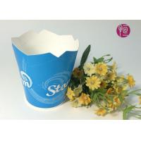 Disposable Foldable Paper Yogurt Cups With Double PE Coated Manufactures