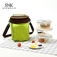 China Wholesale Fashion Leakproof Customized Oxford Cloth Portable Bag on sale