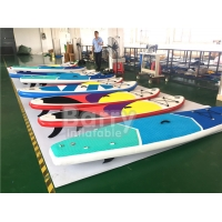 China Touring Paddle Board Inflatable Sup Kit High Pressure 15isp With 3  Fins on sale