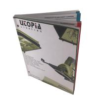 China Perfect Binding Softcover Catalog Printing Services Full Color Booklet Printing on sale
