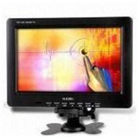 Quality 9.2-inch CCTV LCD Monitor with Reversing Image Function and AV/VGA Input for sale