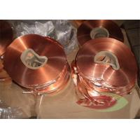 Oxygen Professional 1181 Copper Foil Roll Sheet , Copper Strip Manufactures