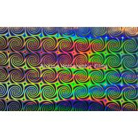 China PET holographic film for gifts packaging on sale