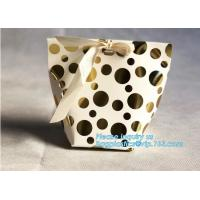 China Supplier Wholesale Custom Card Paper Candy /Pastry /Cookie Paper Bag Carrier Bag Gift Bag with Handle bagease pack Manufactures