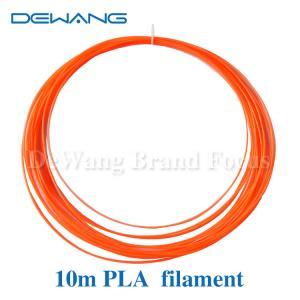 Fluo - orange 1.75mm PLA 3D Printer Filament  , 3d printing pen filament Manufactures