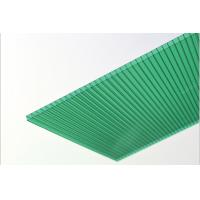 China Hollow Polycarbonate Roofing Sheets For Building Skylights , Agriculture Greenhouse on sale