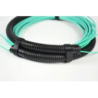 China Pulling Eyes / Socket MPO MTP Patch Cord OM3/OM4 Trunk Fiber Cable Customized Length on sale