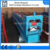 Roof Accessory Automatic Roll Forming Machine For Construction 312mm Cover Width Manufactures