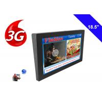 Bus LCD Advertising TV Display Monitor 18.5 Inch 3G Wireless Digital Signage Manufactures