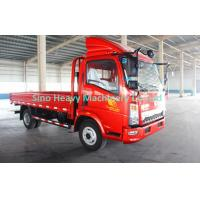 China 4 x 2 Cargo Light Duty Cargo Trucks , Flatbed Truck With 80L Fuel Tank on sale