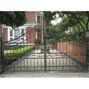 China Wrought Iron Garden Gates on sale