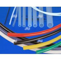 China High Voltage Resistant Rubber Resin Soft Silicone Rubber Tube / Pipes Multi Color on sale