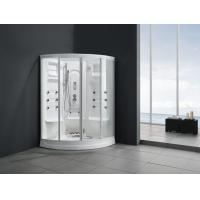 China Monalisa M-8238 arc steam shower room luxury 2 persons shower enclosure steam and shower cabin for home hotel villa on sale