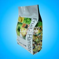 Quality Customized Printed Flat Bottom Zip Lock Packaging Bags / Free Sample for sale