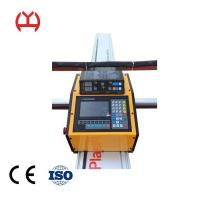 China Servo Motor Fiber Laser Pipe Cutting Machine With Arc Voltage Height Control on sale