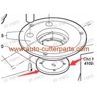 Metal Vector 7000 Cutter Parts Silver Cylindrical Bottom Cover Of Cutter Head 112090 To Cutter Parts Manufactures