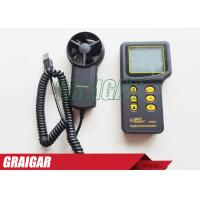 China Anemometer Mini Wind Measurement Meter , Wind Speed Measuring Device 0.3 ~ 45m/s on sale