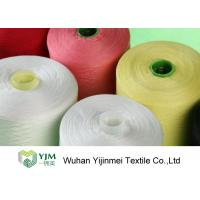 Bright Color Industrial Polyester Yarn 50s/2 Ring Spun , High Tenacity Polyester Yarn Manufactures