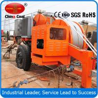 90KN Tension Stringing Overhead Line Hydraulic Puller Manufactures