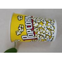 85oz Custom Printed Paper Cups , Paper Popcorn Boxes Containers OEM Acceptable Manufactures
