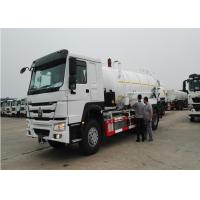 6x4 Sewer Cleaning Truck, LHD / RHD Septic Waste TrucksFor City Cleaning Manufactures