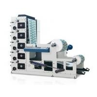 Max Width 850mm Flexo Label Printing Machine , Four Color Flexo Printing Equipment Manufactures