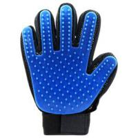 Waterproof Pet Grooming Glove , Comb Dog Glove Hair Removal Carton Packing Manufactures