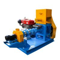 China Diesel Engine Fish Food Pellet Making Machine For Fish Feed Processing Plant on sale