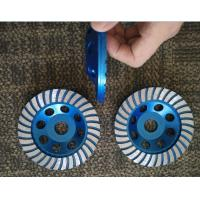 5inch 125mm Turbo Cup Wheel , 5 Diamond Grinding Disc For Concrete Manufactures